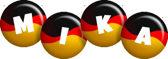 Mika german logo