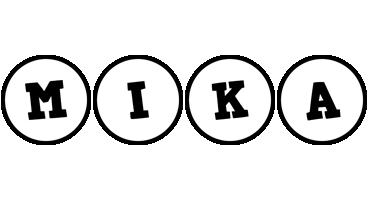 Mika handy logo