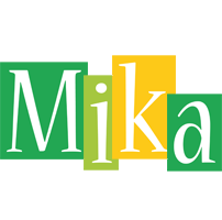Mika lemonade logo
