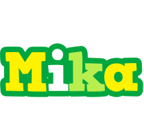 Mika soccer logo