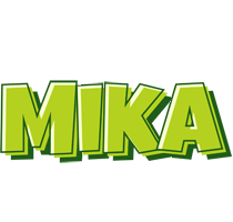 Mika summer logo