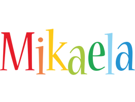 Mikaela birthday logo