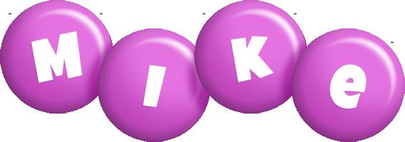 Mike candy-purple logo