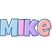 Mike pastel logo