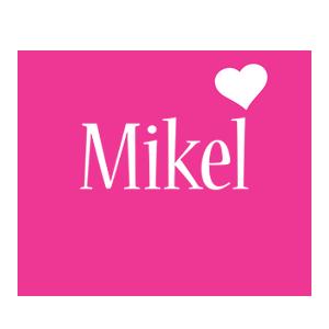 Mikel love-heart logo