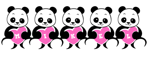 Mikel love-panda logo