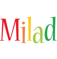Milad birthday logo