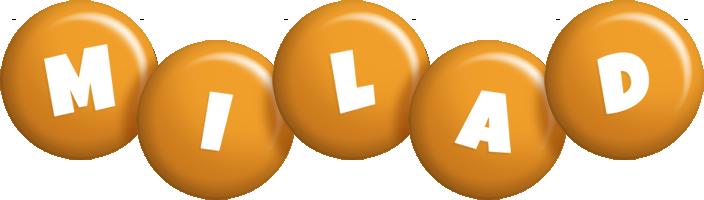 Milad candy-orange logo