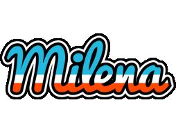 Milena america logo
