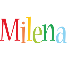 Milena birthday logo