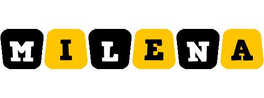 Milena boots logo