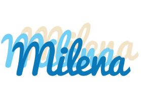 Milena breeze logo