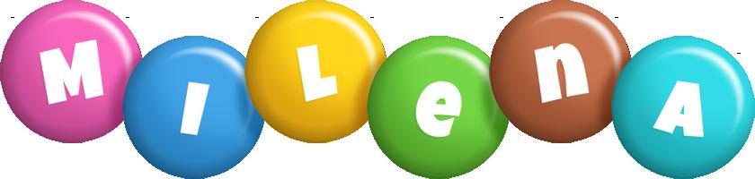 Milena candy logo
