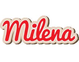 Milena chocolate logo