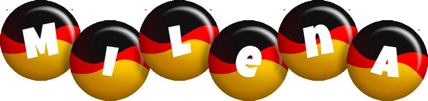 Milena german logo