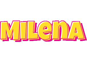 Milena kaboom logo