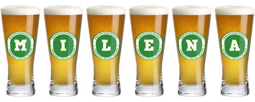 Milena lager logo