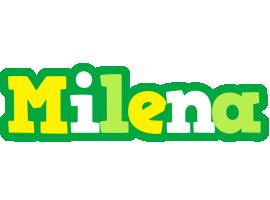 Milena soccer logo