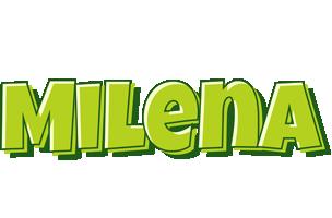 Milena summer logo