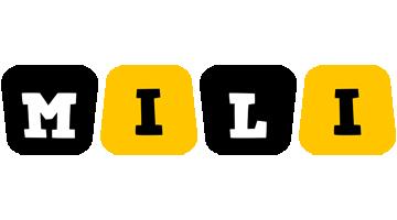 Mili boots logo