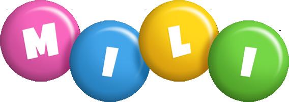Mili candy logo
