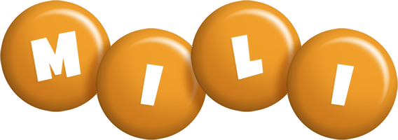 Mili candy-orange logo
