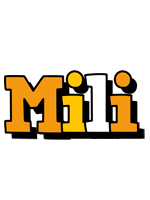 Mili cartoon logo