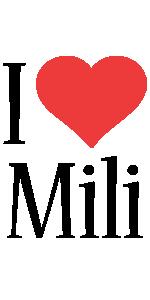 Mili i-love logo