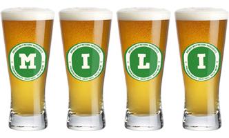 Mili lager logo