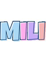 Mili pastel logo