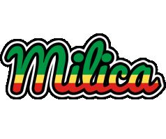 Milica african logo