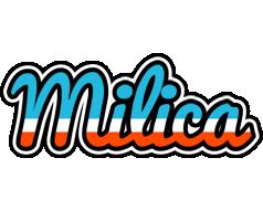 Milica america logo