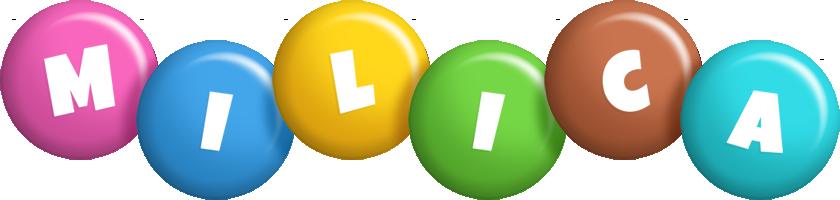 Milica candy logo