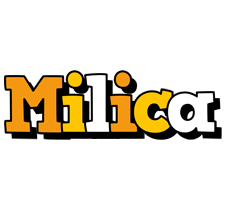 Milica cartoon logo