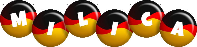 Milica german logo