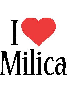 Milica i-love logo