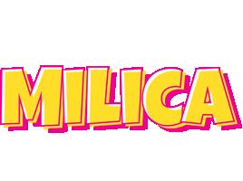 Milica kaboom logo