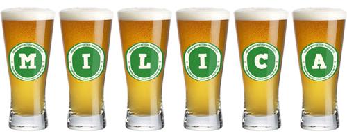 Milica lager logo