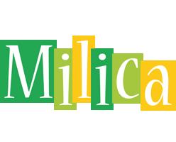 Milica lemonade logo