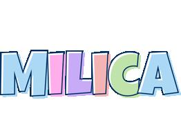 Milica pastel logo