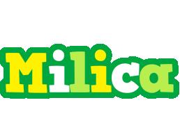Milica soccer logo