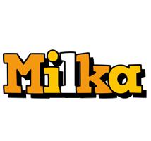 Milka cartoon logo