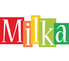 Milka colors logo