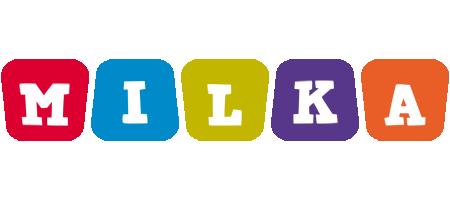 Milka daycare logo