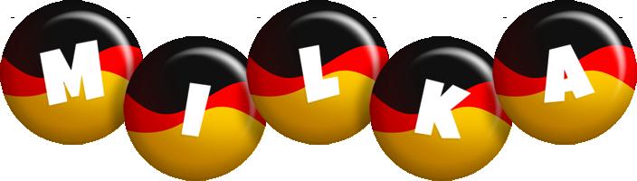 Milka german logo