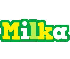 Milka soccer logo