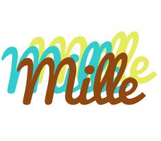 Mille cupcake logo