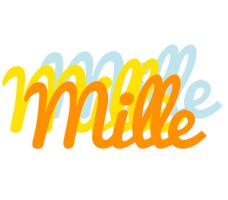 Mille energy logo