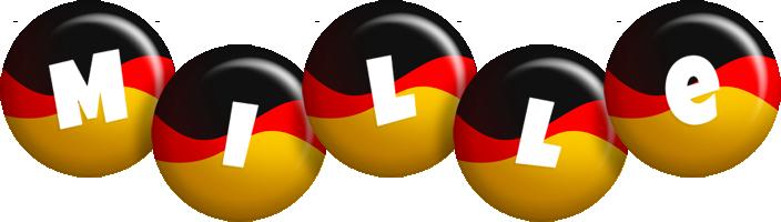 Mille german logo