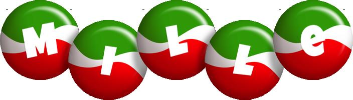 Mille italy logo